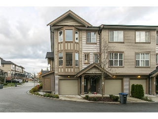 "Main Photo: 71 14838 61 Avenue in Surrey: Sullivan Station Townhouse for sale in ""Sequoia"" : MLS®# R2123525"
