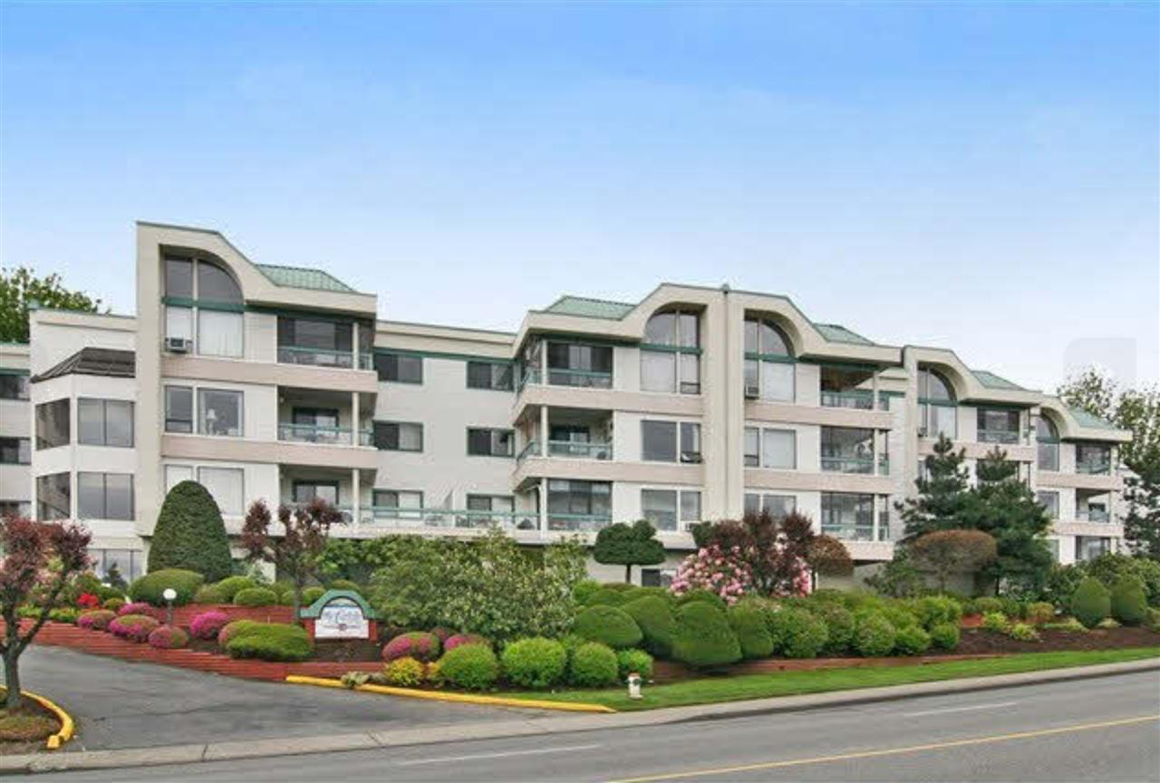 "Main Photo: 108 33030 GEORGE FERGUSON Way in Abbotsford: Central Abbotsford Condo for sale in ""The Carlisle"" : MLS® # R2143880"