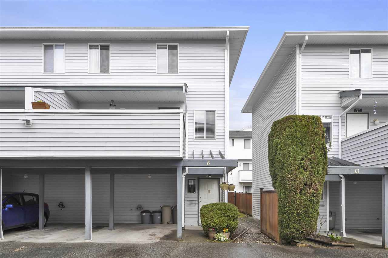 "Main Photo: 6 3410 COAST MERIDIAN Road in Port Coquitlam: Lincoln Park PQ Townhouse for sale in ""AVONDALE 2"" : MLS(r) # R2154709"