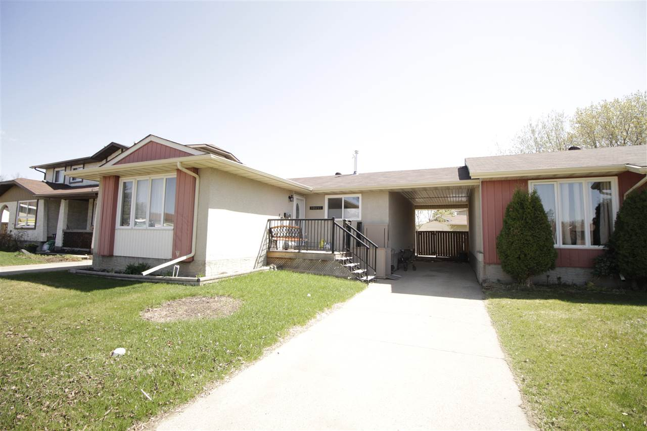 Main Photo: 10015 173 Avenue in Edmonton: Zone 27 House Half Duplex for sale : MLS(r) # E4064094