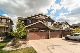 Main Photo: 3117 WHITELAW Drive in Edmonton: Zone 56 House Half Duplex for sale : MLS® # E4085334