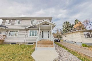 Main Photo: 9414 156 Street in Edmonton: Zone 22 House Half Duplex for sale : MLS® # E4086310