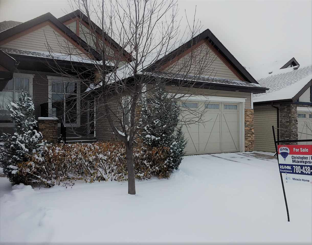 Main Photo: 921 ARMITAGE Crest in Edmonton: Zone 56 House Half Duplex for sale : MLS® # E4090034