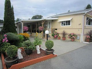 "Main Photo: 86 201 CAYER Street in Coquitlam: Maillardville Manufactured Home for sale in ""WILDWOOD PARK"" : MLS®# R2261716"