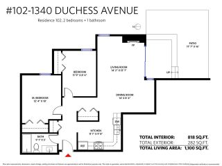 "Main Photo: 102 1340 DUCHESS Avenue in West Vancouver: Ambleside Condo for sale in ""DUCHESS LANE"" : MLS®# R2308114"