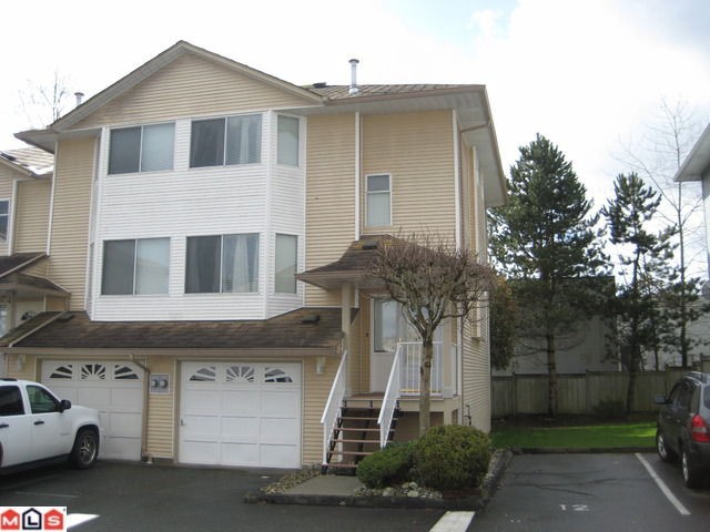 "Main Photo: 11 3087 IMMEL Street in Abbotsford: Central Abbotsford Townhouse for sale in ""CLAYBURN ESTATES"""
