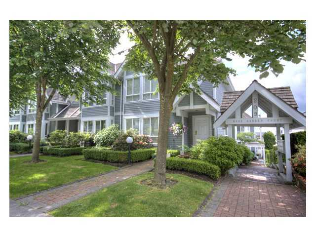 "Main Photo: 109 209 E 6TH Street in North Vancouver: Lower Lonsdale Townhouse for sale in ""ROSE GARDEN COURT"" : MLS® # V882100"