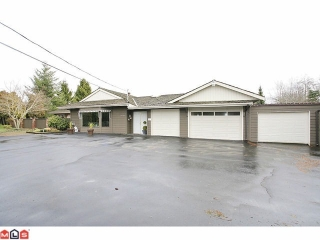 Main Photo: 16779 EDGEWOOD Drive in Surrey: Grandview Surrey House for sale (South Surrey White Rock)  : MLS® # F1202312