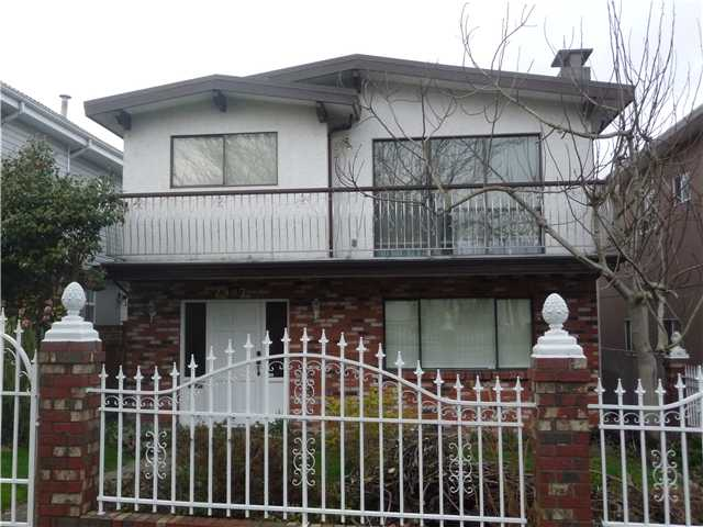 Main Photo: 2987 E 27TH Avenue in Vancouver: Renfrew Heights House for sale (Vancouver East)  : MLS® # V1106735