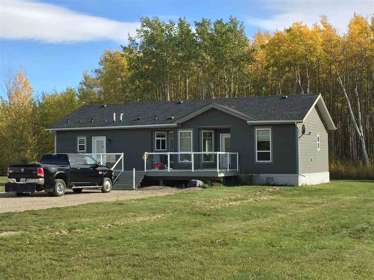 Main Photo: 9808 MAPLE Street in FT ST JOHN: Fort St. John - Rural W 100th Manufactured Home for sale (Fort St. John (Zone 60))  : MLS(r) # R2002304
