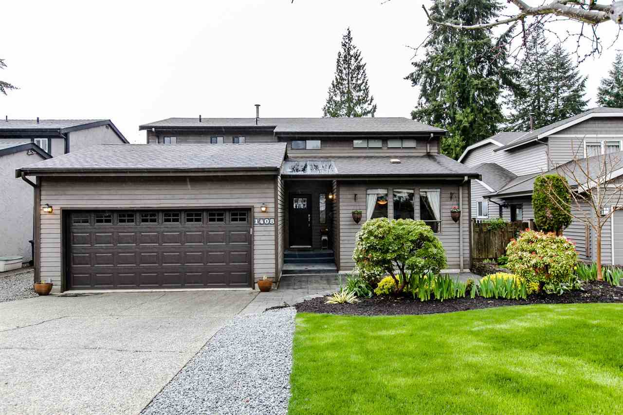 Main Photo: 1408 DOGWOOD Place in Port Moody: Mountain Meadows House for sale : MLS® # R2055682