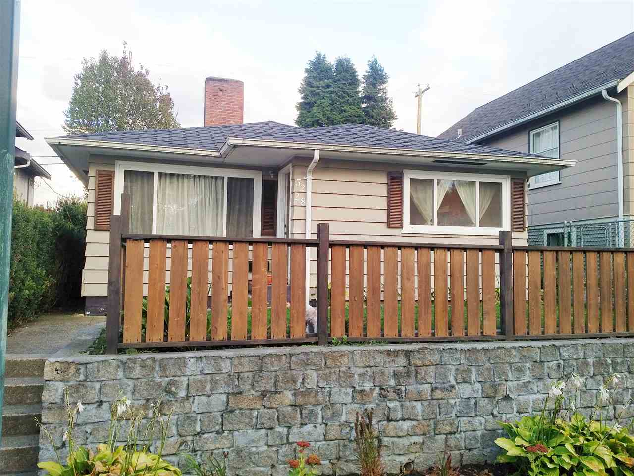 Main Photo: 5228 FRASER Street in Vancouver: Fraser VE House for sale (Vancouver East)  : MLS® # R2109950