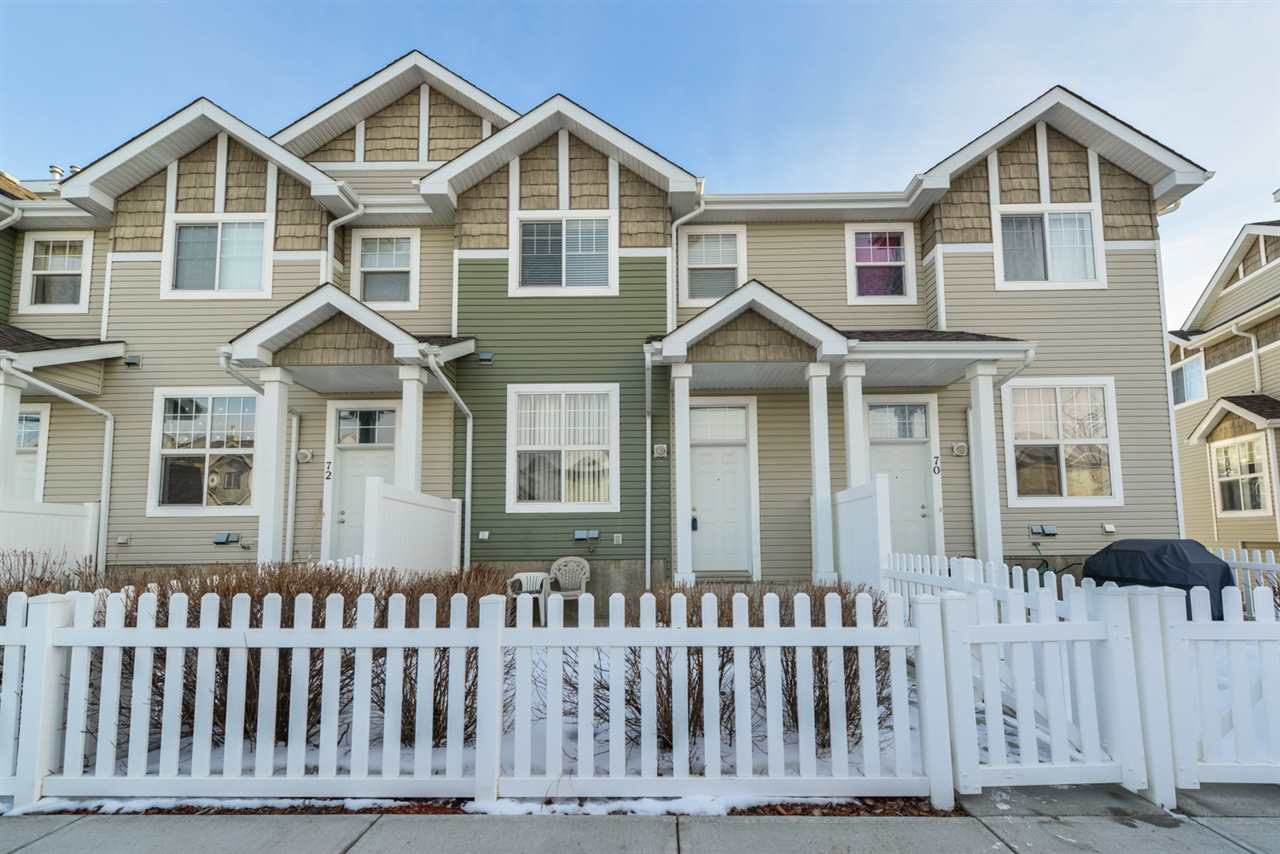 Photo 1: 71 5604 199 Street in Edmonton: Zone 58 Townhouse for sale : MLS(r) # E4051687