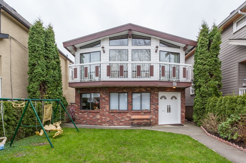 Main Photo: 60 E 18TH Avenue in Vancouver: Main House for sale (Vancouver East)  : MLS®# R2152169