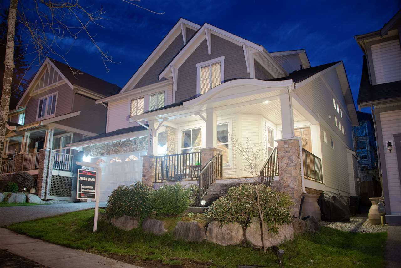 "Main Photo: 1471 AVONDALE Street in Coquitlam: Burke Mountain House for sale in ""BELMONT"" : MLS® # R2159281"