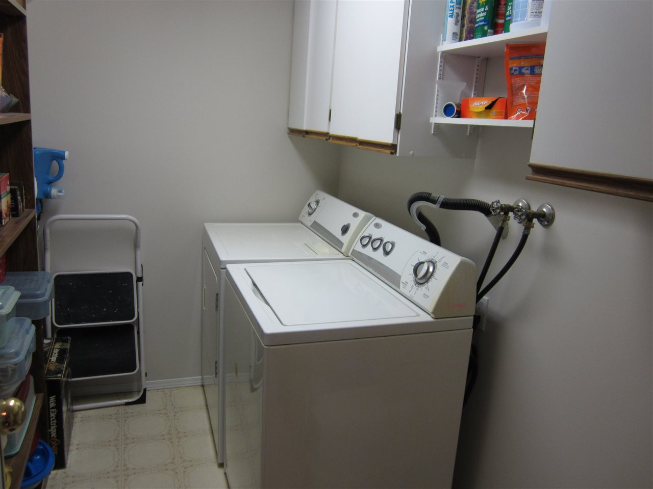 Dedicated Laundry & Storage Area