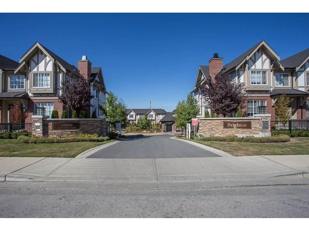 Main Photo: 93 30989 WESTRIDGE PLACE in Abbotsford: Abbotsford West Townhouse for sale : MLS®# R2201418