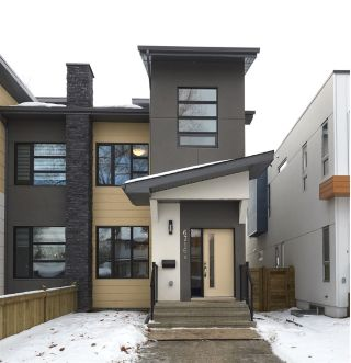 Main Photo:  in Edmonton: Zone 15 House Half Duplex for sale : MLS® # E4090235