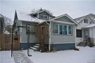 Main Photo: 446 Galloway Street in Winnipeg: Sinclair Park Residential for sale (4C)  : MLS® # 1730644