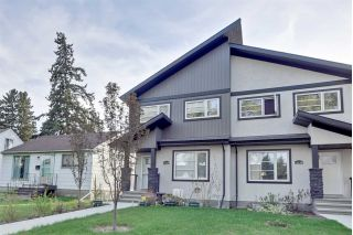 Main Photo: 11234 105 Street in Edmonton: Zone 08 House Half Duplex for sale : MLS®# E4114251