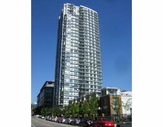 Main Photo: 1509 928 Beatty Street in Vancouver: Yaletown Condo for sale (Vancouver West)  : MLS® # V615780