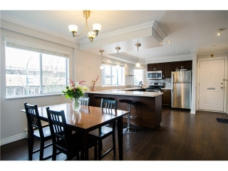 "Main Photo: 1298 W 6TH Avenue in Vancouver: Fairview VW Townhouse for sale in ""Vanderlee Court"" (Vancouver West)  : MLS® # V1130216"