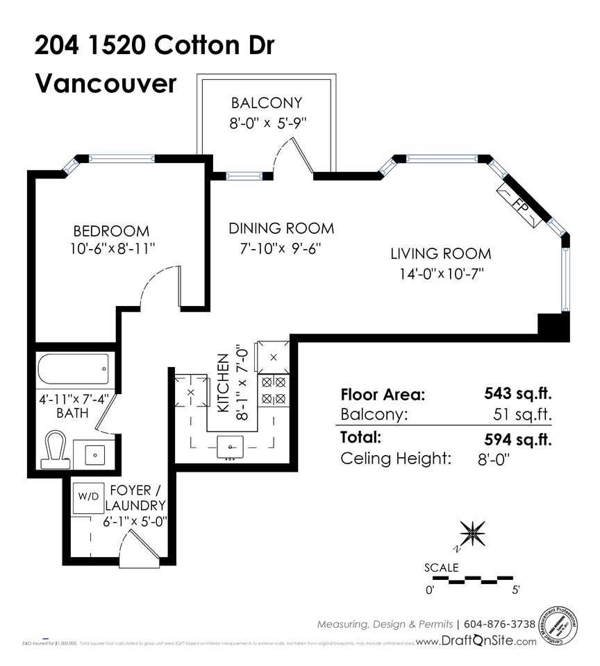 "Photo 15: 204 1520 COTTON Drive in Vancouver: Grandview VE Condo for sale in ""GRANTVIEW PLACE"" (Vancouver East)  : MLS(r) # R2115936"
