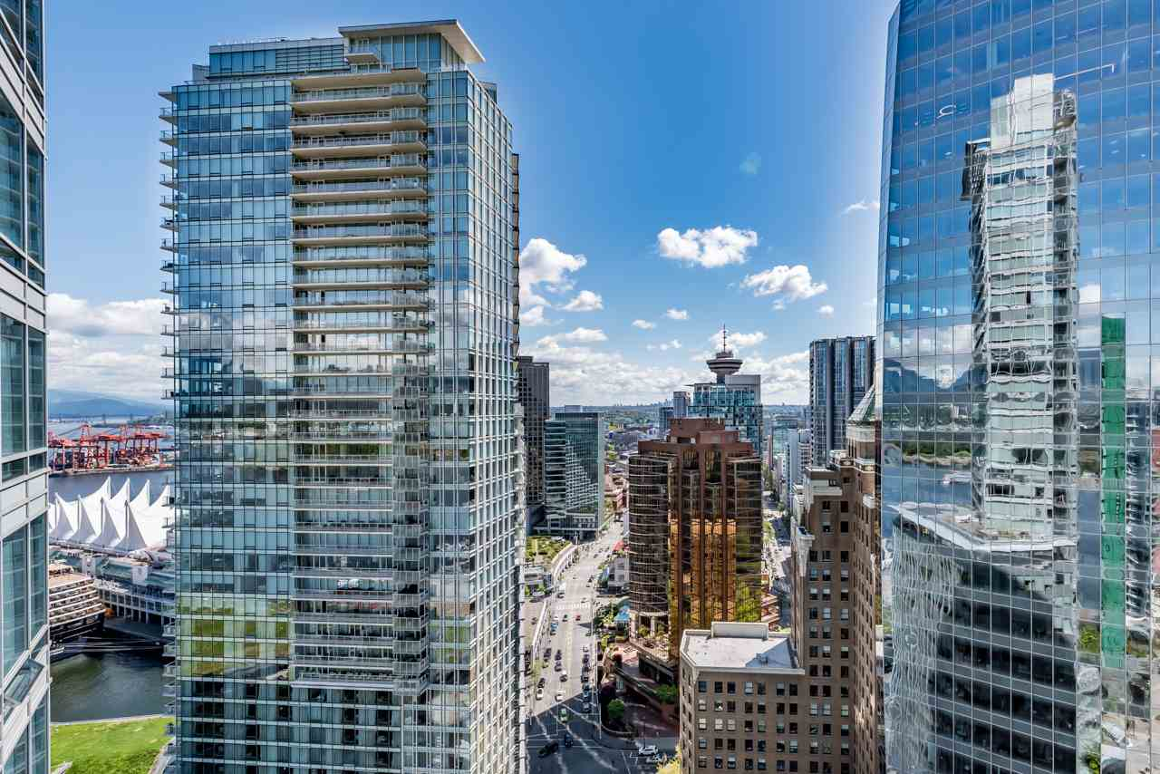 "Main Photo: 2706 1077 W CORDOVA Street in Vancouver: Coal Harbour Condo for sale in ""SHAW TOWER"" (Vancouver West)  : MLS(r) # R2173545"
