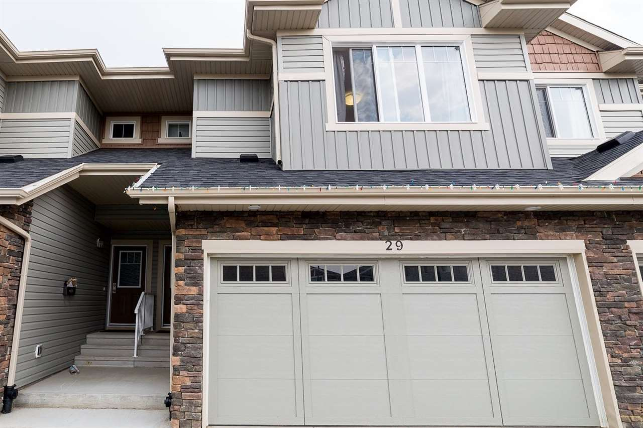 Main Photo: 29 2004 TRUMPETER Way in Edmonton: Zone 59 Townhouse for sale : MLS® # E4074604