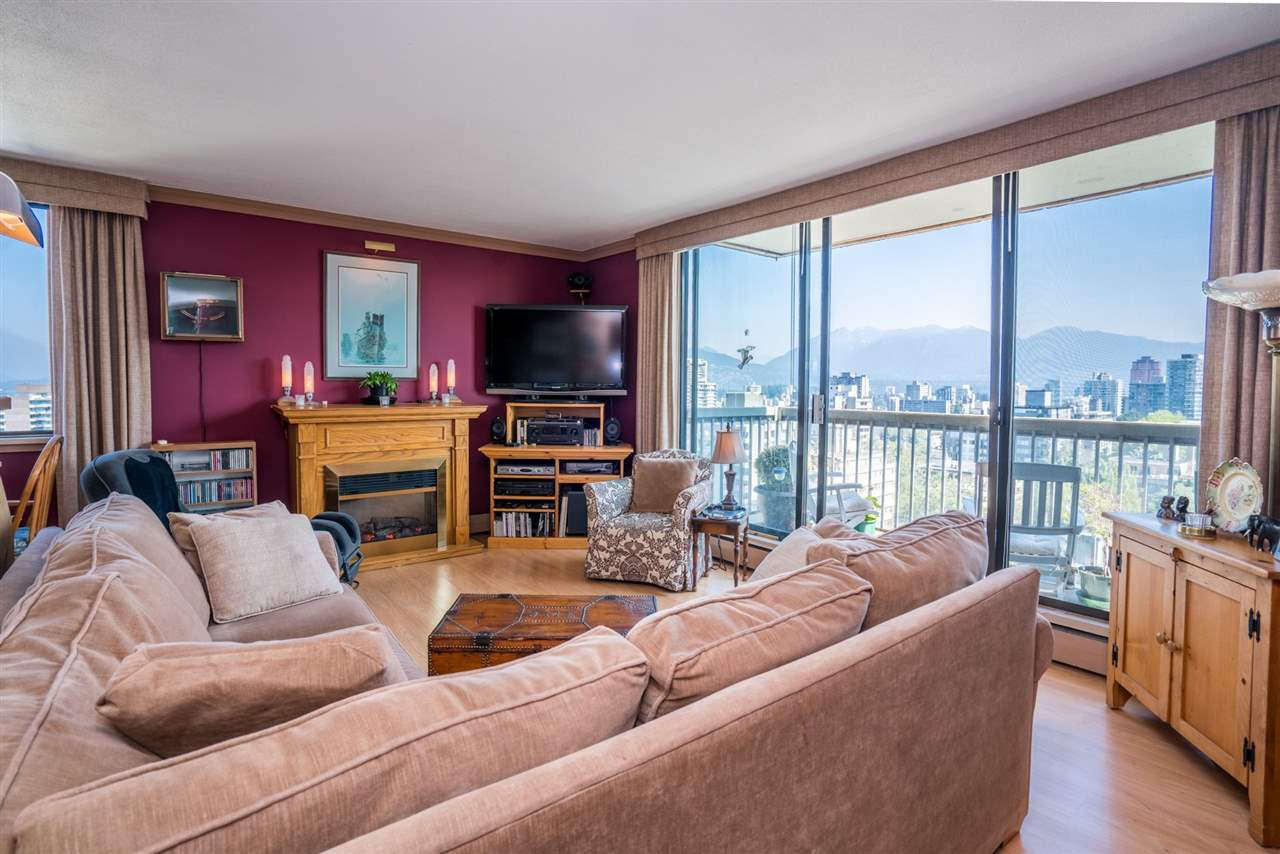 "Main Photo: 1901 1330 HARWOOD Street in Vancouver: West End VW Condo for sale in ""WESTSEA TOWERS"" (Vancouver West)  : MLS® # R2190574"