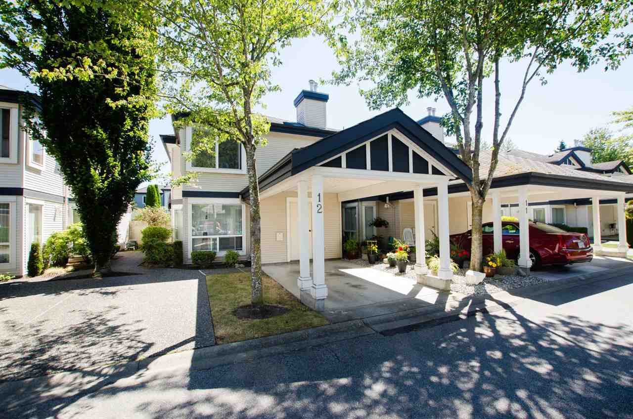 "Main Photo: 12 4748 54A Street in Delta: Delta Manor Townhouse for sale in ""ROSEWOOD COURT"" (Ladner)  : MLS® # R2193649"
