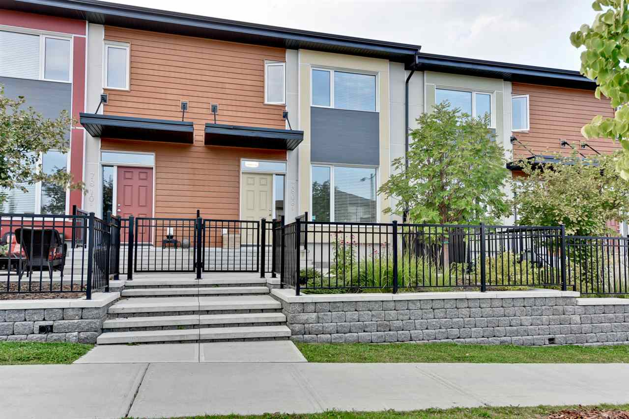 Main Photo: 7808 MAY Link in Edmonton: Zone 14 Townhouse for sale : MLS® # E4079306