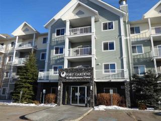 Main Photo: 219 70 WOODSMERE Close: Fort Saskatchewan Condo for sale : MLS® # E4090124