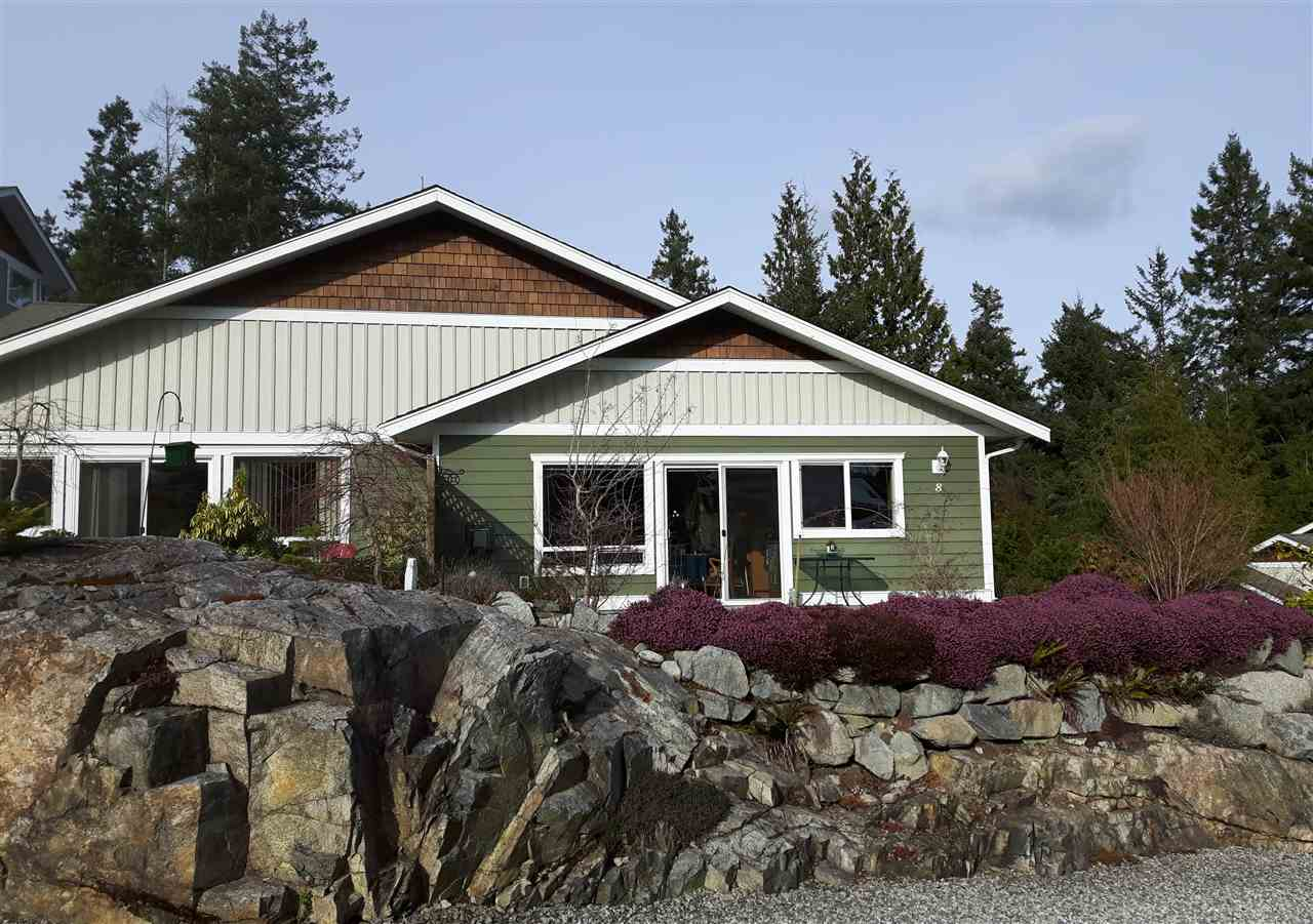 "Main Photo: 8 12710 LAGOON Road in Pender Harbour: Pender Harbour Egmont House 1/2 Duplex for sale in ""LILY LAKE"" (Sunshine Coast)  : MLS®# R2243902"