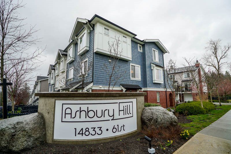 "Main Photo: 103 14833 61 Avenue in Surrey: Sullivan Station Townhouse for sale in ""Ashbury Hill"" : MLS®# R2250717"