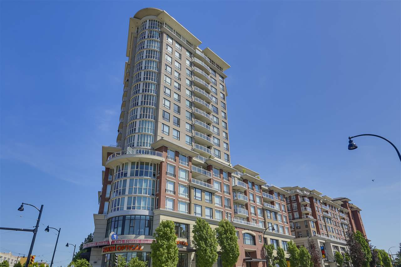 "Main Photo: 420 4028 KNIGHT Street in Vancouver: Knight Condo for sale in ""King Edward Village II"" (Vancouver East)  : MLS®# R2268380"