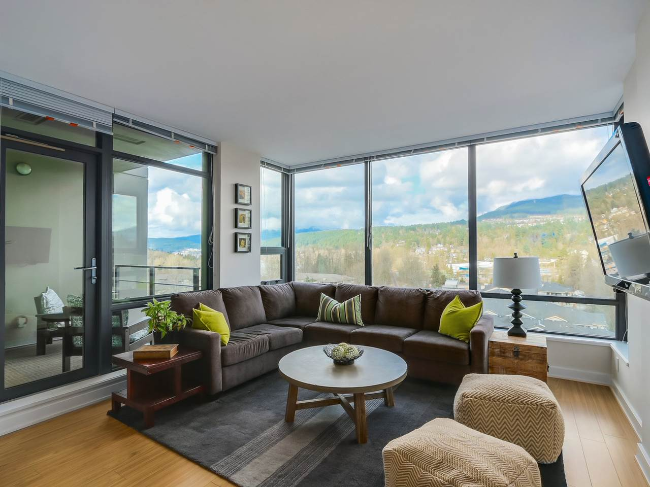 "Main Photo: 1004 301 CAPILANO Road in Port Moody: Port Moody Centre Condo for sale in ""RESIDENCES AT SUTER BROOK"" : MLS® # R2040388"