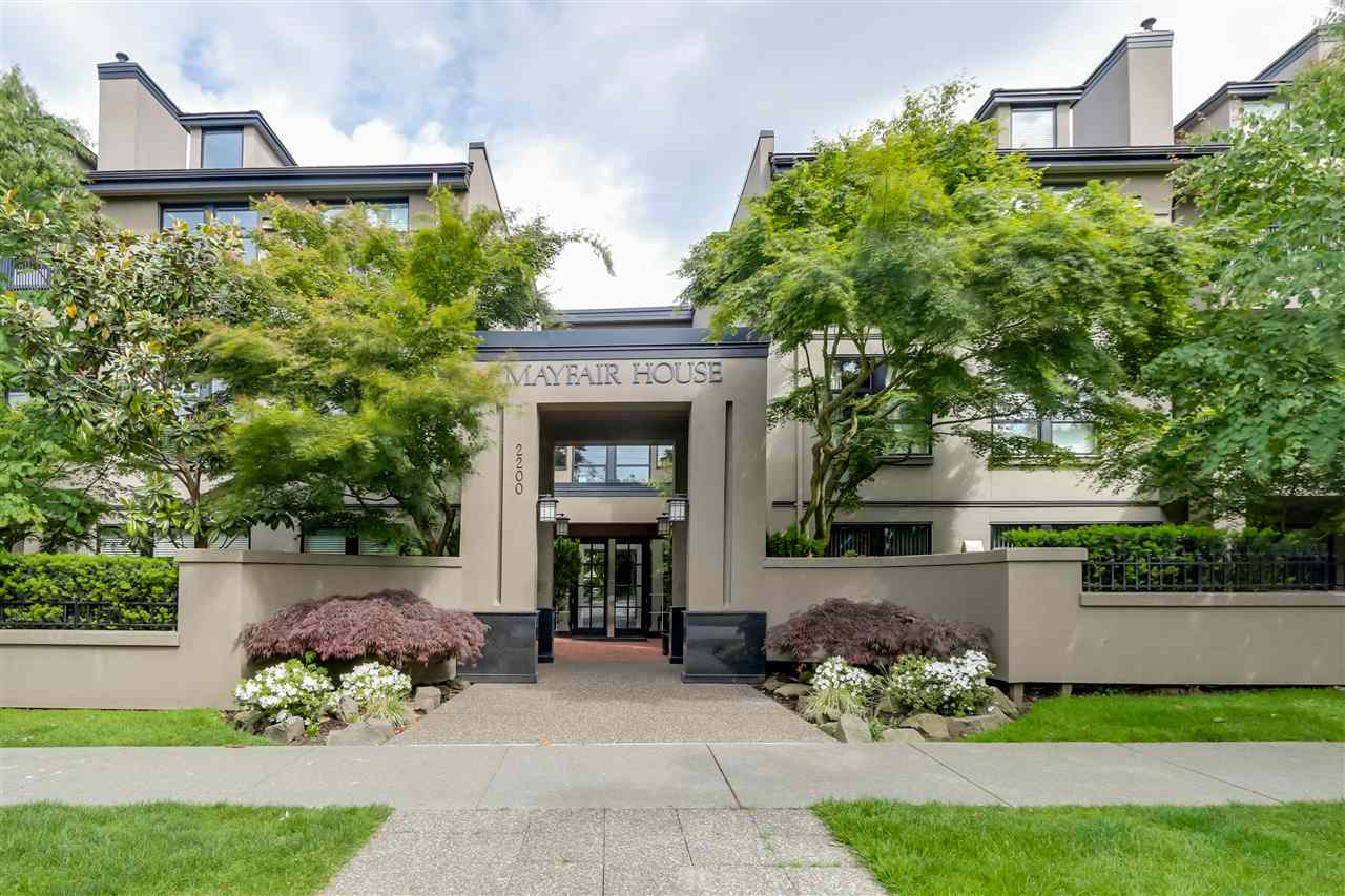 Main Photo: 217 2200 HIGHBURY Street in Vancouver: Point Grey Condo for sale (Vancouver West)  : MLS® # R2071840