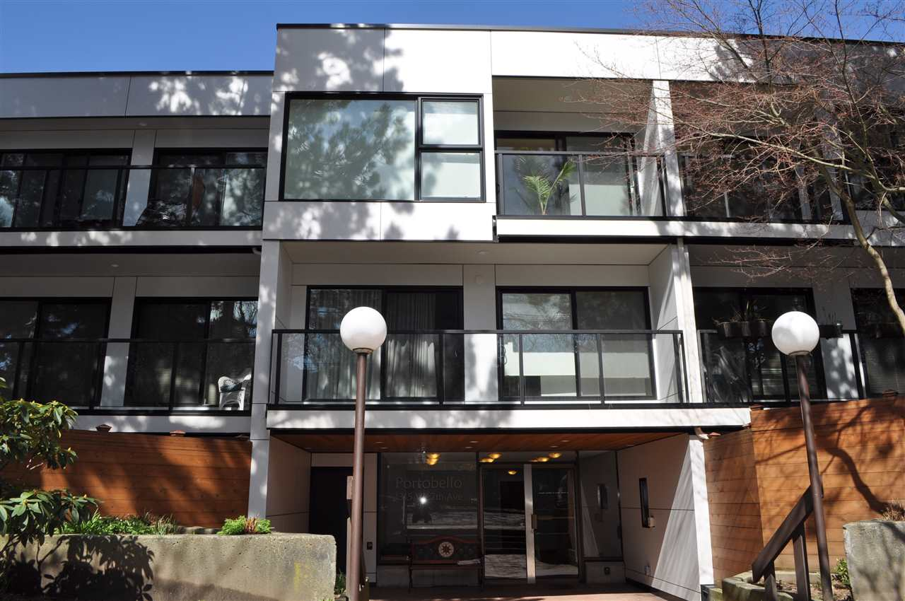 "Main Photo: 206 1315 W 7TH Avenue in Vancouver: Fairview VW Condo for sale in ""PORTOBELLO"" (Vancouver West)  : MLS®# R2151056"