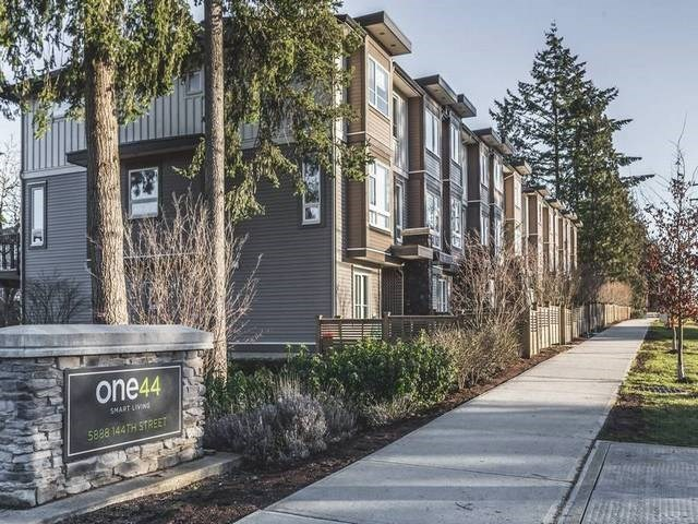 "Main Photo: 133 5888 144 Street in Surrey: Sullivan Station Townhouse for sale in ""ONE 44"" : MLS(r) # R2174811"
