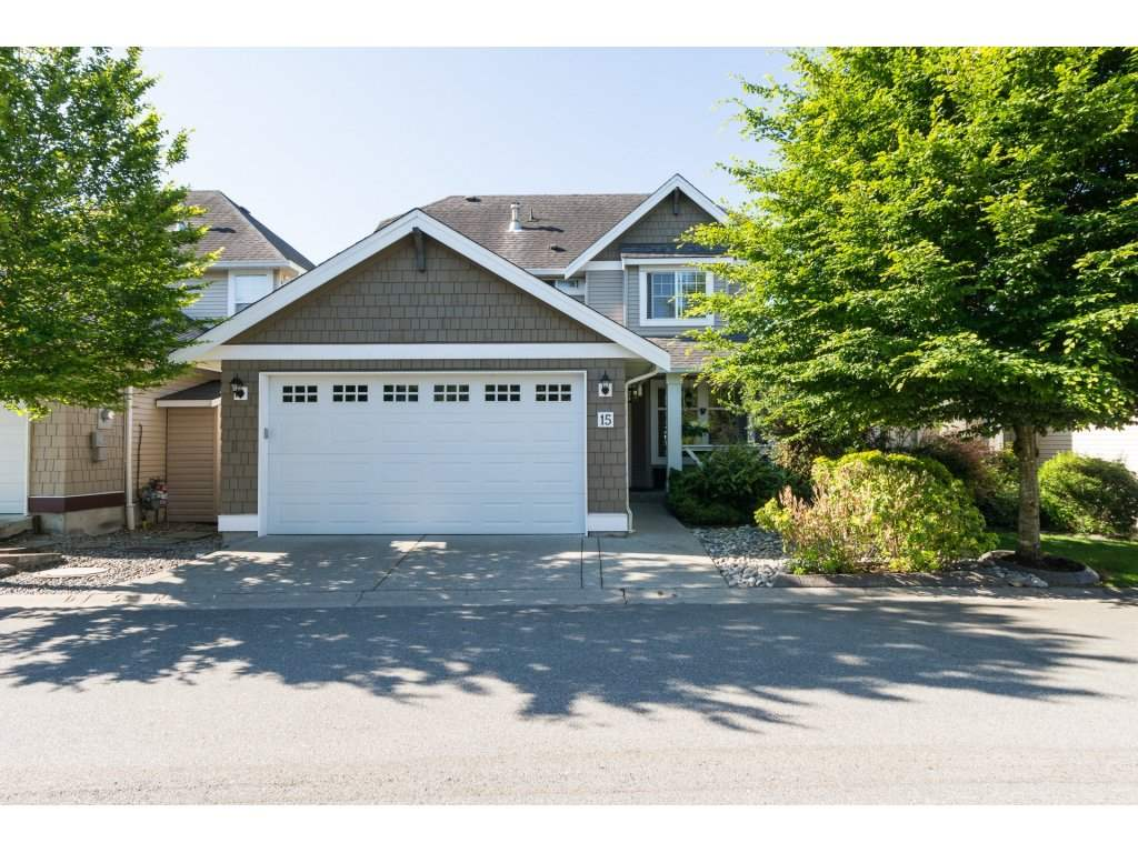 "Main Photo: 15 7067 189 Street in Surrey: Clayton House for sale in ""Claytonbrook"" (Cloverdale)  : MLS(r) # R2183316"