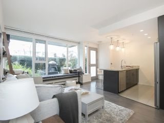 "Main Photo: 103 1887 CROWE Street in Vancouver: False Creek Condo for sale in ""Pinnacle Living"" (Vancouver West)  : MLS® # R2227717"