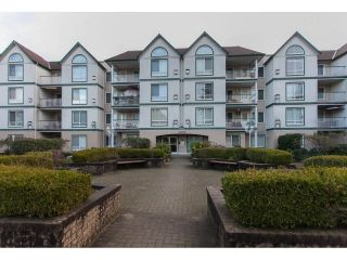 "Main Photo: 411 10082 132 Street in Surrey: Whalley Condo for sale in ""Melrose Court"" (North Surrey)  : MLS® # R2239599"