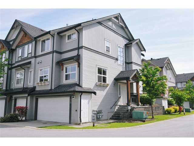 "Main Photo: 55 1055 RIVERWOOD Gate in Port Coquitlam: Riverwood Townhouse for sale in ""MOUNTAIN VIEW ESTATES"" : MLS® # V888731"