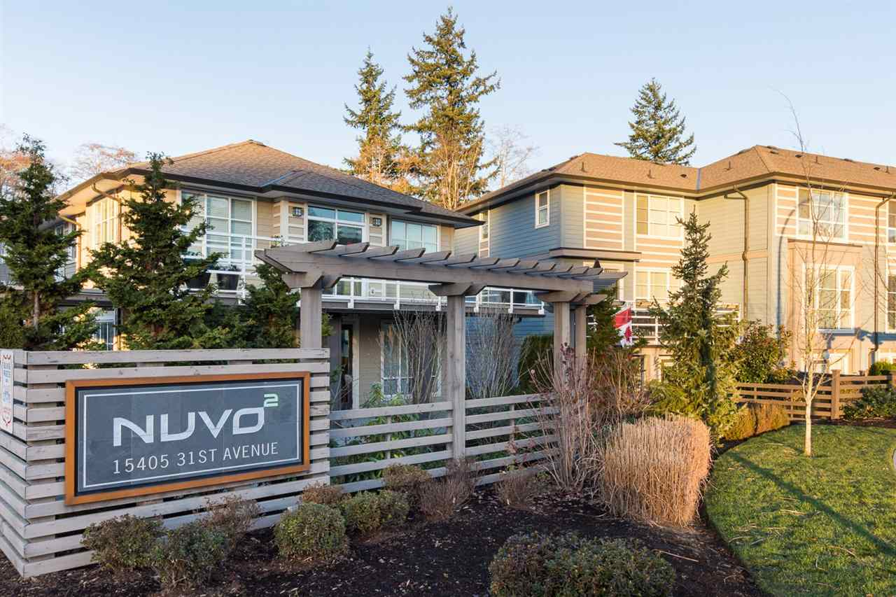 "Main Photo: 40 15405 31 Avenue in Surrey: Grandview Surrey Townhouse for sale in ""Nuvo 2"" (South Surrey White Rock)  : MLS® # R2018076"