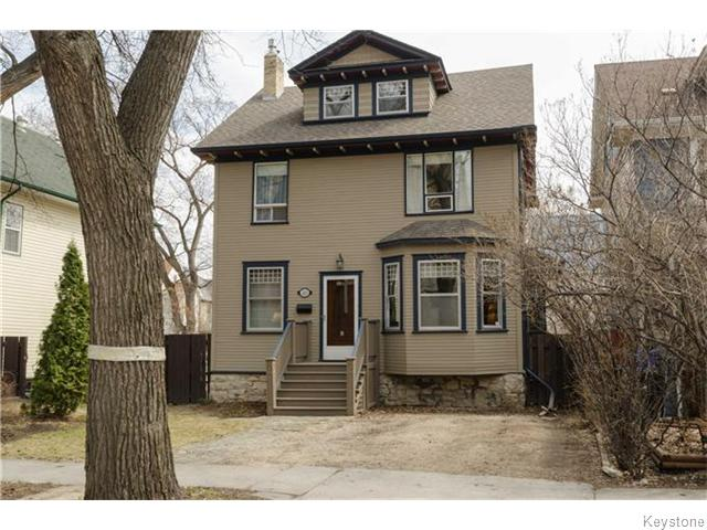 Main Photo: 221 Walnut Street in Winnipeg: West End / Wolseley Residential for sale (West Winnipeg)  : MLS® # 1609946
