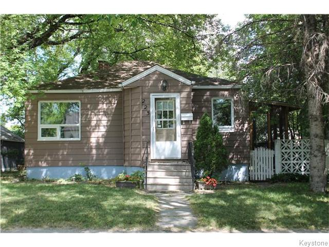 Main Photo: 223 Linden Avenue in Winnipeg: East Kildonan Residential for sale (3D)  : MLS® # 1622586