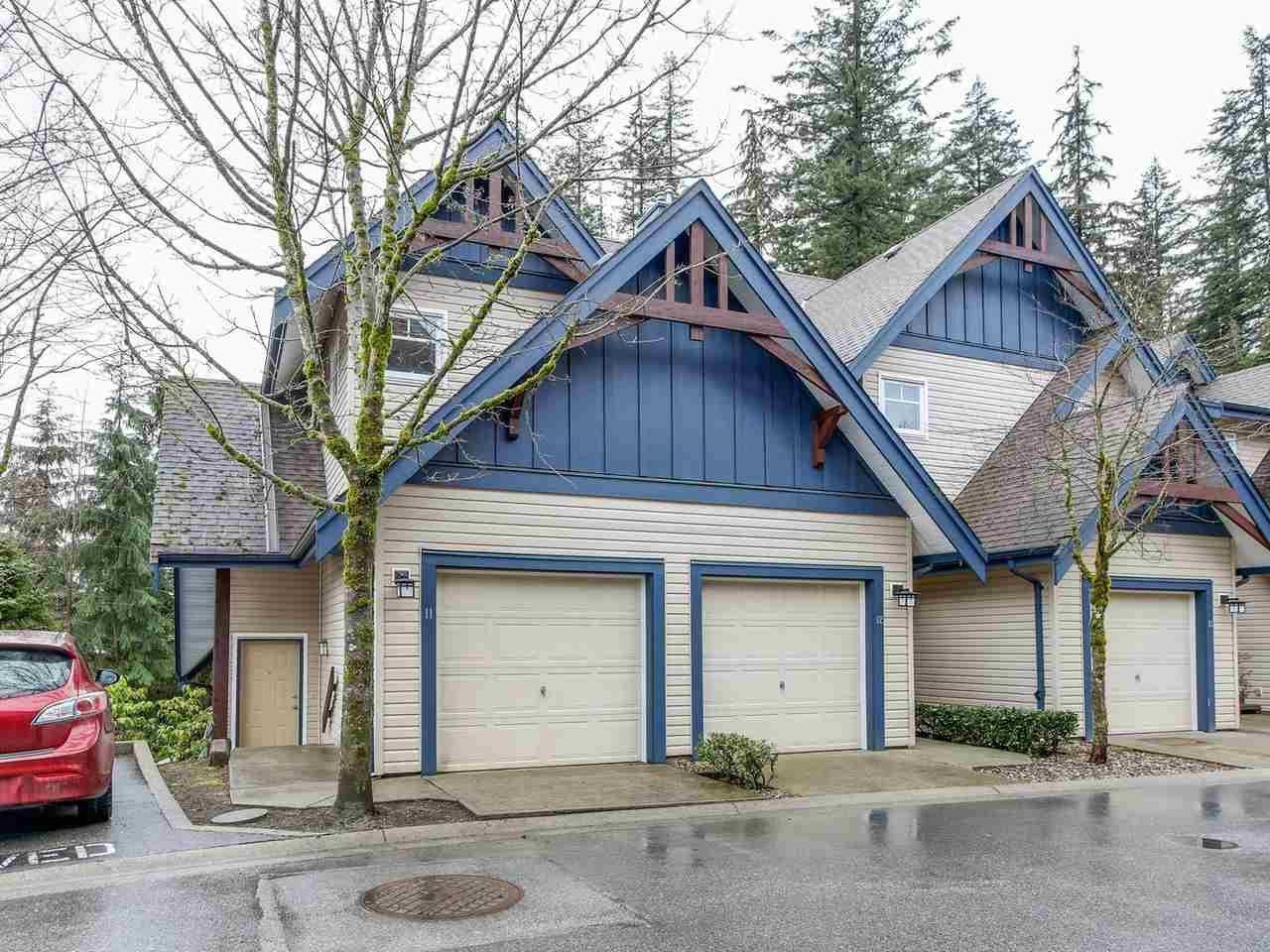 "Photo 1: 11 50 PANORAMA Place in Port Moody: Heritage Woods PM Townhouse for sale in ""ADVENTURE RIDGE"" : MLS(r) # R2146460"