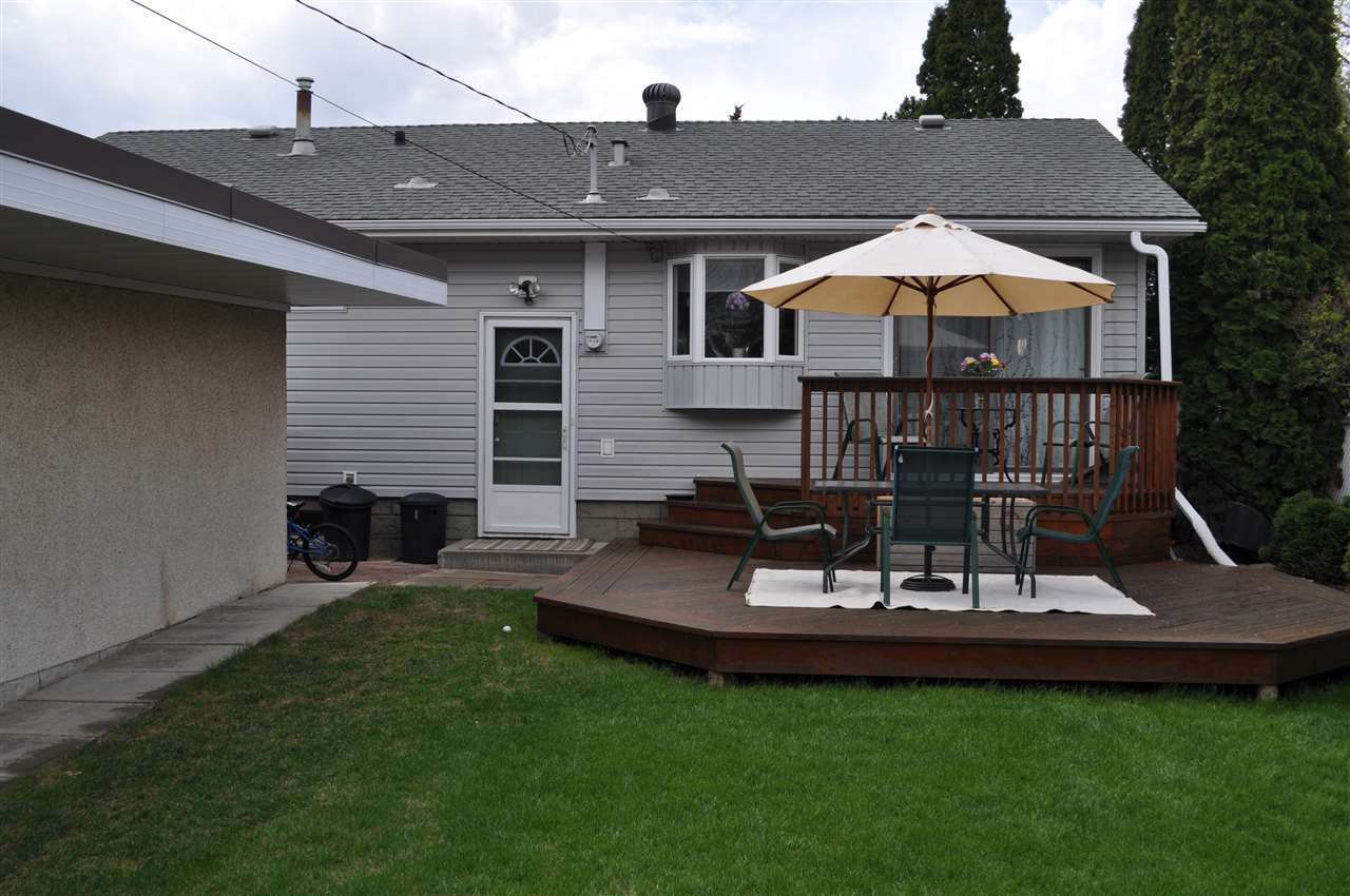 Mature landscaping in both the front and rear yards, as well as on the surrounding properties give a park-like feel.  It is easy to enjoy this yard