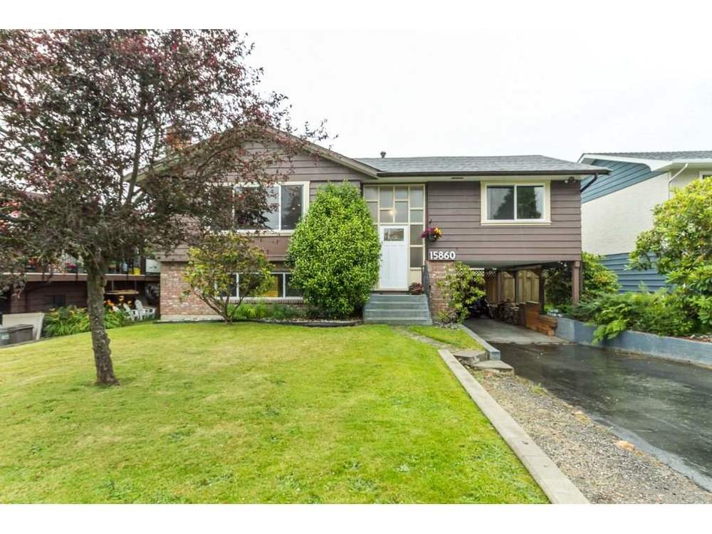 Main Photo: 15860 GOGGS AVENUE in South Surrey White Rock: Home for sale : MLS® # R2087988
